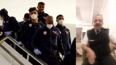 Photo of كابتن طائرة الزمالك فى رحلة السنغال ينصف إدارة النادي فى الأزمة (فيديو)