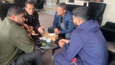 Photo of صور.. وسام العابدي و يامن بن ذكري يؤازرون الزمالك أمام الترجي