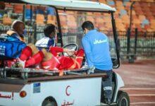 Photo of محمود وحيد يجري أشعة بعد إصابته في العضلة الخلفية