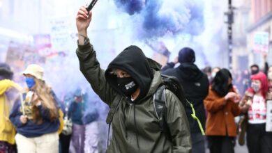 Photo of مدينة مانشستر تشتعل بالمظاهرات قبل ساعات من انطلاق مباراة ليفربول