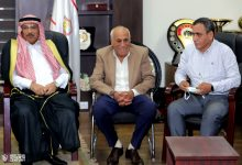 Photo of حسين لبيب يستقبل وفدا من القبائل والعائلات المصرية بنادي الزمالك