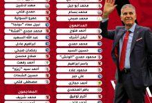 Photo of القائمة المبدئية لكأس العرب